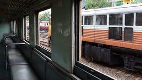 Thai train. Thai is a Public Thai Train Railway stock video footage