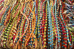 Thai Tribal Beads Royalty Free Stock Photo