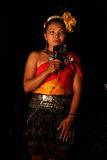 Thai tribal girl Stock Photography