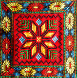 Thai tribe fabric Stock Images