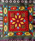 Thai tribe fabric Royalty Free Stock Images
