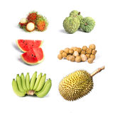 Thai tropical fruits for healthy Stock Images