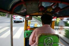 Thai tuk tuk taxi, Bangkok. Royalty Free Stock Image