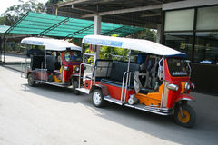 Thai Tuk Tuk taxi, Thailand. Stock Photography