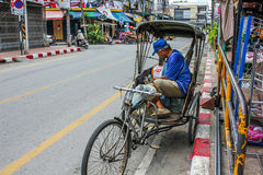 Thai tuk tuk  taxi Stock Photography