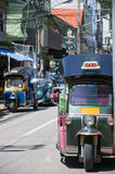 Thai tuk tuks Stock Image