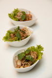 Thai Tuna salad for good health. Royalty Free Stock Image