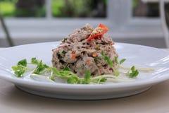 Thai Tuna salad Royalty Free Stock Photo