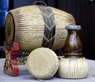 Thai twin drum Royalty Free Stock Photo
