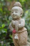 thai välkomnande för stil Arkivfoton