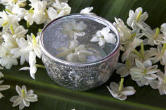 thai vatten för skopajasmin Arkivfoton