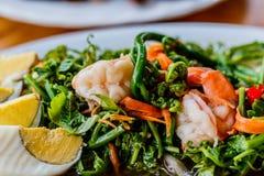 Thai vegetable salad sour taste. Royalty Free Stock Image