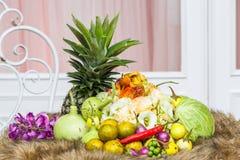 Thai vegetables Stock Photos