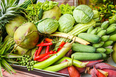 Thai vegetables and fruits Stock Photo