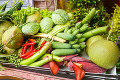 Thai vegetables and fruits Stock Photography