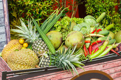 Thai vegetables and fruits Royalty Free Stock Photography
