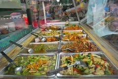 Thai vegetarian cuisine Royalty Free Stock Images