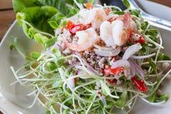 Thai vegetarian food Stock Image