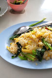 Thai vegetarian pineapple fried rice Royalty Free Stock Images
