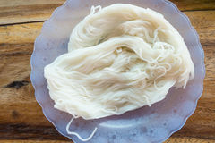 Thai vermicelli eaten with curry Royalty Free Stock Photo
