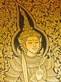 thai vinkelstil Royaltyfri Bild
