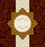 Thai vintage Ornament and pattern design. Royalty Free Stock Images
