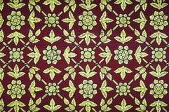 Thai vintage pattern Royalty Free Stock Photo