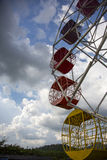 Thai vintage style Ferris wheel Stock Images