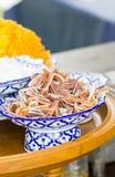 Thai Vintage Sweetmeat. Royalty Free Stock Photos