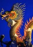 Thai viwe and dragon Royalty Free Stock Photos