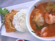 #Thai voedsel Stock Fotografie