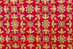 Thai wall art pattern Royalty Free Stock Images