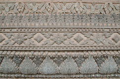 Thai wall art stucco. The old wall art stucco in Thailand Royalty Free Stock Photos