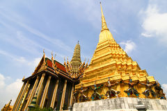 thai wat Royaltyfri Bild