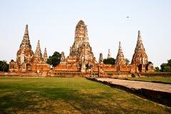 thai wat Arkivbild