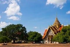 Thai Wat Royaltyfri Fotografi