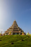 Thai Wat Arkivfoto