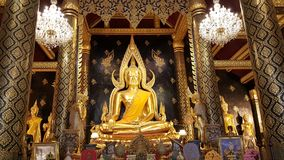 Thai wat beautiful Royalty Free Stock Photography