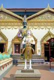thai wat för chayamangkalaramskulpturtempel Royaltyfria Foton