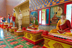 thai wat för buddha chayamangkalaramtempel Royaltyfri Fotografi