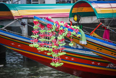 Thai Water Taxis Royalty Free Stock Photography