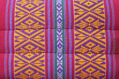 Thai Weave fabric pillow Royalty Free Stock Photos
