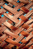 Weave wall bamboo Stock Images