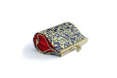 Thai weaving handmade bag and nice handmade craft Royalty Free Stock Photo