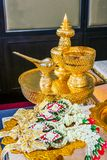 Thai wedding accessories Stock Image