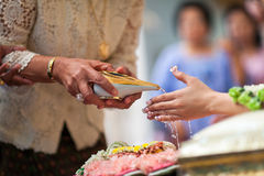 Thai wedding ceremony Stock Photos