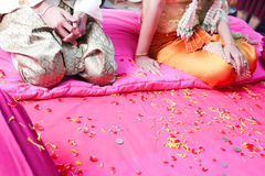Thai wedding ceremony. Stock Photos