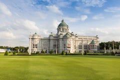 Thai White House public tourist destination Stock Photo
