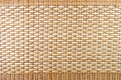 Thai wicker basket texture Stock Photography