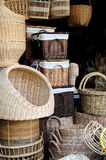 Thai wicker Stock Photography